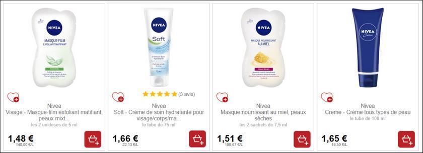 Bon Plan Produits Nivea Partout - anti-crise.fr