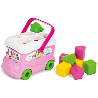 Jouet 1er age Le bus des formes de Minnie à 3,99€