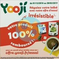 Offre de Remboursement Yooji : Mon Produit 100% Remboursé