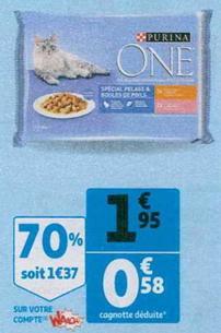 Bon Plan Sachet pour Chat Purina One chez Auchan - anti-crise.fr