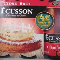 Offre de Remboursement Ecusson : 4€ Remboursés sur votre Galette des Rois