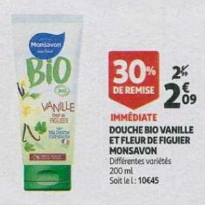 Bon Plan Douche Monsavon chez Auchan - anti-crise.fr