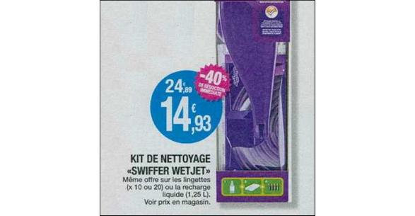 Bon Plan Balai Spray Swiffer Wetjet chez Leclerc Occitanie - anti-crise.fr