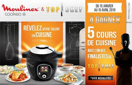 Bon Plan Moulinex 5 Cours De Cuisine Avec Le Finaliste De Top Chef