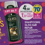 Bon Plan Shampooing et Après-Shampooing Gliss chez Leclerc Occitanie - anti-crise.fr