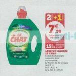 Bon Plan Lessive Liquide Le Chat chez Magasins U - anti-crise.fr