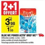 Bon Plan Bloc WC Bref chez Carrefour Market (29/01 - 10/02) - anti-crise.Fr