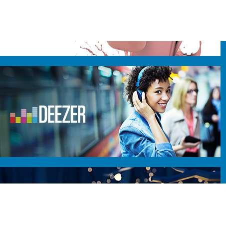 DEEZER : 50% de réduction sur l'abonnement Premium+ – 60€