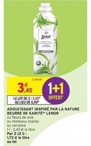 Bon Plan Adoucissant Lenor chez Intermarché (22/01 - 27/01) - anti-crise.fr