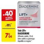 Bon Plan Soin Lift+ de Diadermine chez Carrefour (29/01 - 04/02) - anti-crise.fr