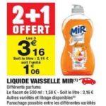 Bon Plan Mir Vaisselle chez Carrefour Market (29/01 - 10/02) - anti-crise.Fr
