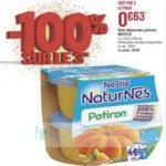 Bon Plan Naturnes de Nestlé chez Géant Casino (22/01 - 03/02) - anti-crise.Fr