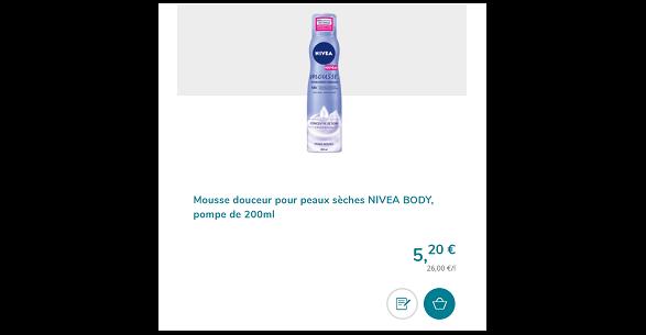 Bon Plan Mousse Hydratante Nivéa chez Magasins U le 10/01 - anti-crise.Fr