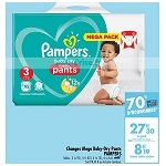 Bon Plan Culottes Baby-Dry Pants Pampers chez Carrefour (15/01 - 04/02) - anti-crise.fr