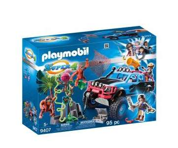 15.75 la boite Playmobil Super4 Tout terrain avec Alex et