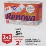 Bon Plan Papier Toilette Renova chez Auchan (30/01) - anti-crise.Fr