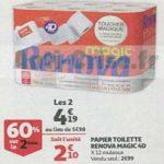 Bon Plan Papier Toilette Renova chez Auchan Supermarché (30/01) - anti-crise.fr