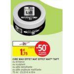 Bon Plan Produits Taft chez Intermarché (22/01 - 27/01) - anti-crisE.fr