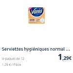 Bon Plan Serviettes Vania Ultra Partout - anti-crise.fr