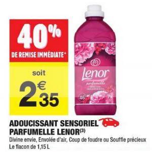Bon Plan Adoucissant Lenor chez Carrefour Market - anti-crise.fr