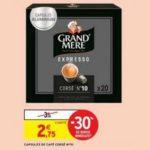 Bon Plan Capsules Expresso Grand'Mère chez Intermarché - anti-crise.fr