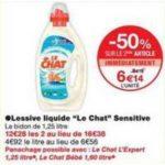 Bon Plan Lessive Liquide Le Chat chez Monoprix - anti-crise.fr