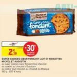 Bon Plan Super Cookies Coeur Fondant Michel et Augustin chez Intermarché - anti-crise.fr