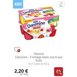 Bon Plan Danonino chez Intermarché - anti-crise.fr