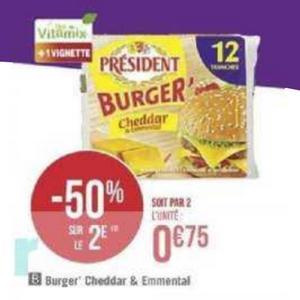Bon Plan Tranches Burger' ou Croque Monsieur Président chez Géant Casino - anti-crise.fr