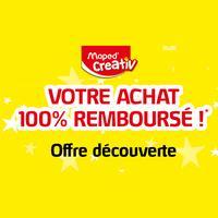 Offre de Remboursement Maped : Boîte Creativ 100% Remboursé
