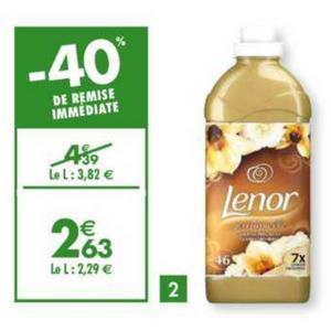 Bon Plan Adoucissant Lenor chez Carrefour - anti-crise.fr