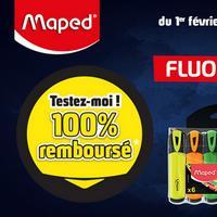 Offre de Remboursement Maped : Fluo Pep's 100% Remboursé