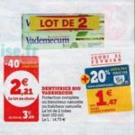 Bon Plan Dentifrice Vademecum chez Magasins U - anti-crise.fr