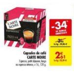 Bon Plan Capsules Carte Noire pour Dolce Gusto chez Carrefour - anti-crise.fr