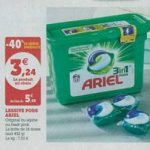 Bon Plan Lessive Ariel Pods 3en1 chez Magasins U (26/02 - 09/03)- anti-crise.fr