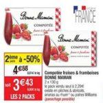 Bon Plan Compotée Bonne Maman chez Cora (19/02 - 25/02) - anti-crise.fr