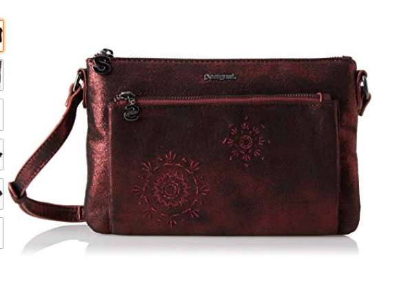 28,41€ le sac Desigual brilli toulouse rouge