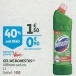 Bon Plan Gel WC Domestos chez Auchan Supermarché (06/02 - 12/02) - anti-crise.Fr