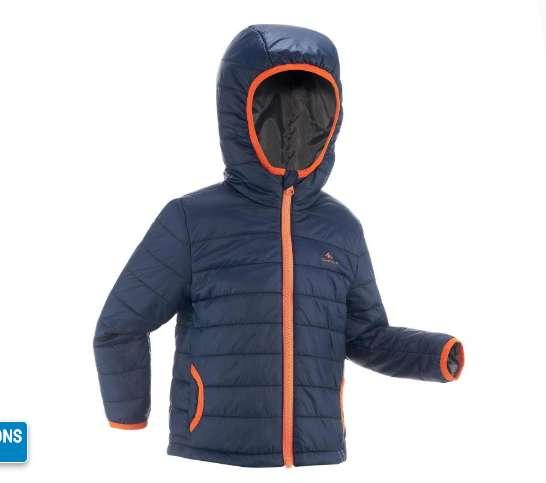 10€ la doudoune Quechua Kid (2-6 ans)