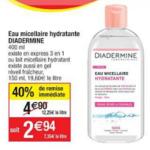 Bon Plan Eau Micellaire Diadermine chez Cora (19/02 - 25/02) - anti-crise.fr
