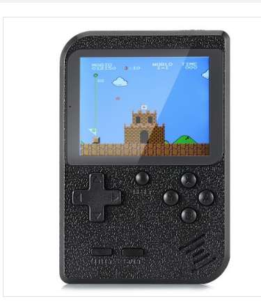 12,69€ la console portable avec 400 jeux retrogaming