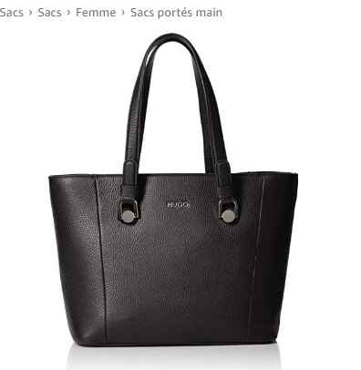108€ le sac Hugo Boss Mayfair Shopper