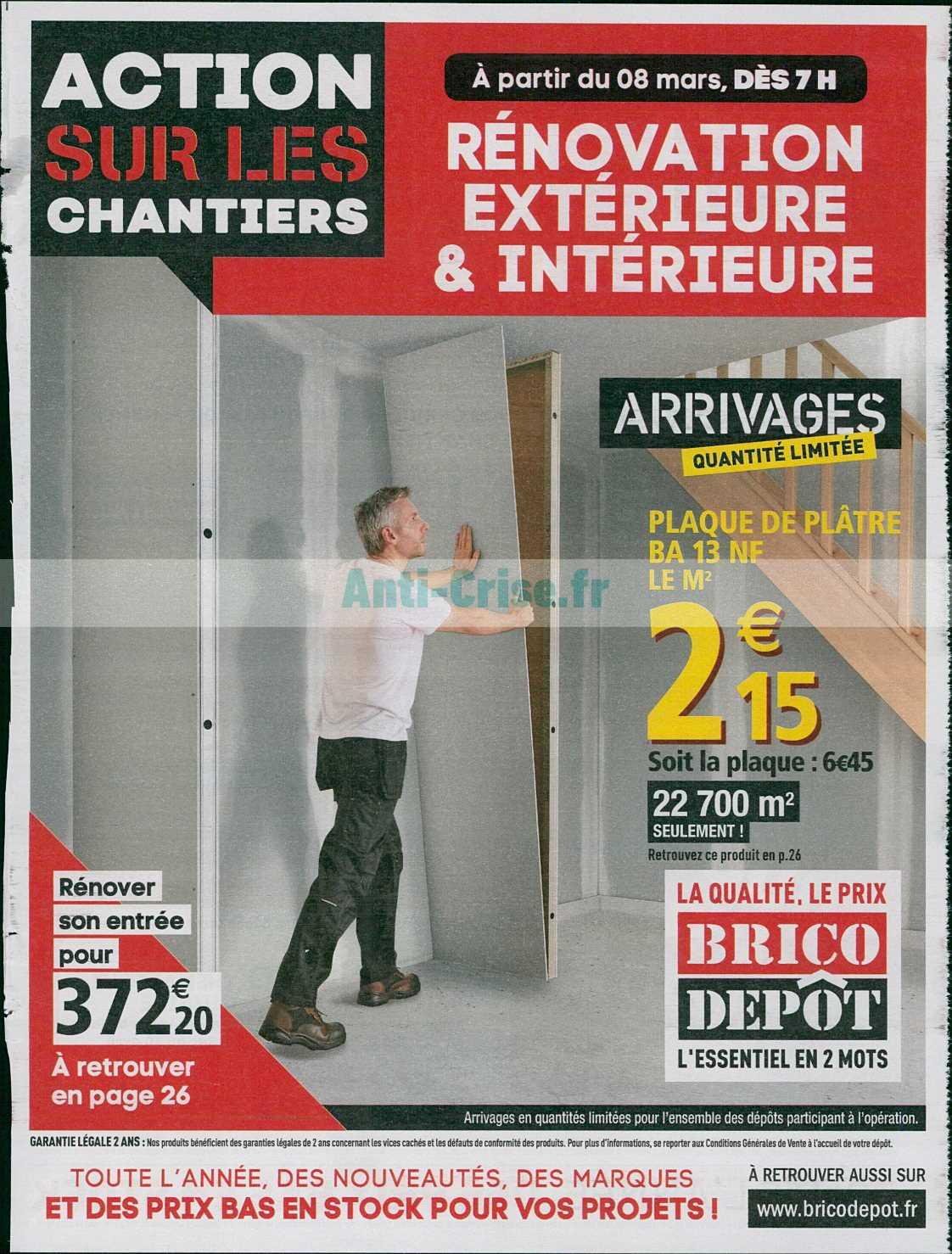 Catalogue Brico Dépôt Du 08 Au 28 Mars 2019 Catalogues