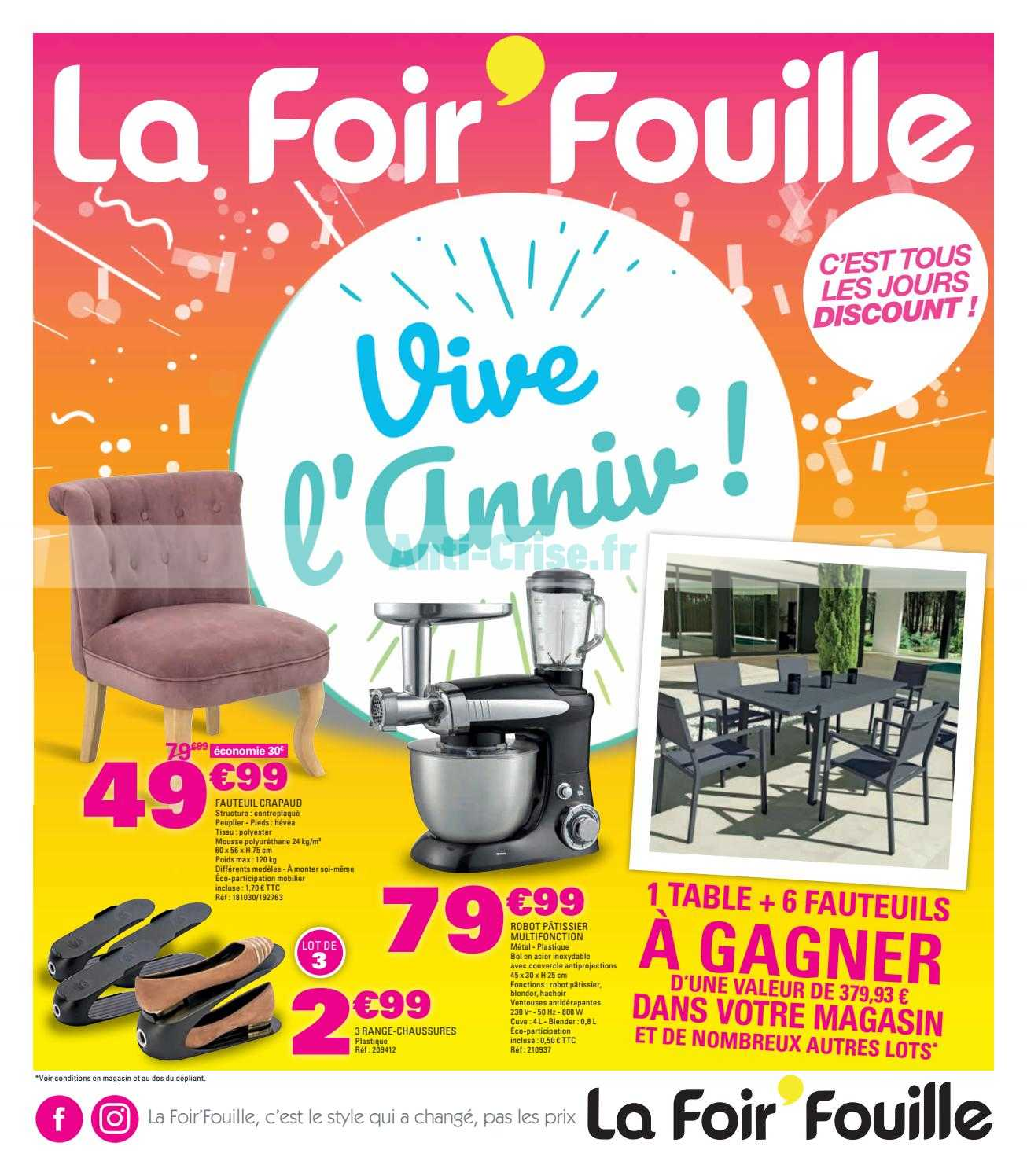 Catalogue La Foir Fouille Du 20 Février Au 31 Mars 2019