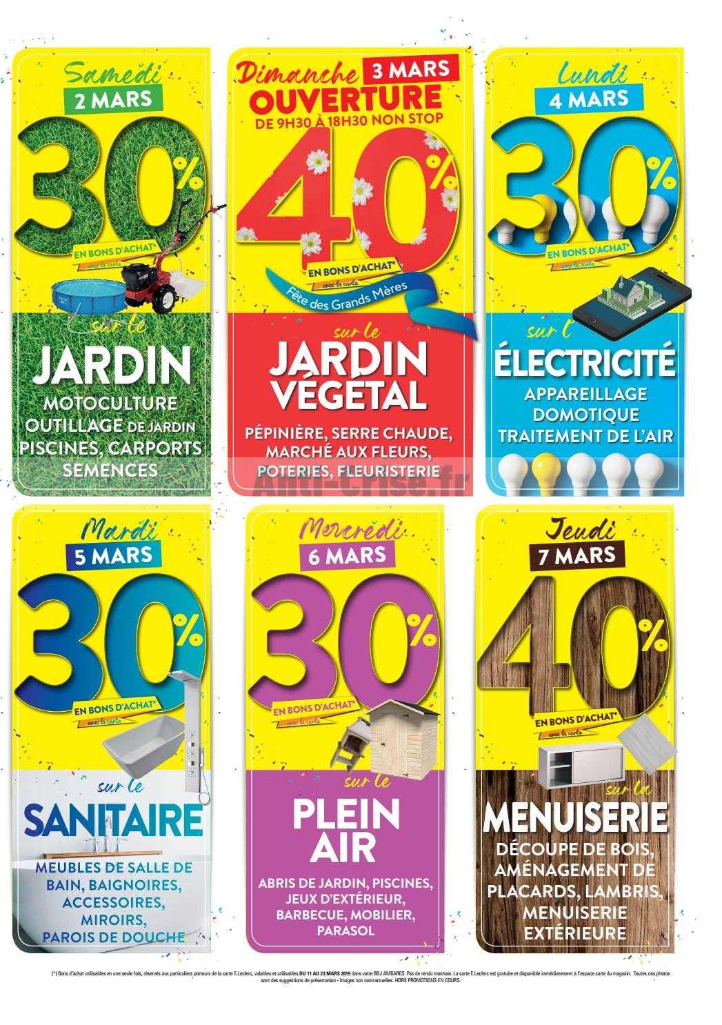 Leclerc Local Le Nouveau Catalogue Du 25 Fevrier Au 10 Mars 2019 Est Disponible Economisez Grace Aux Promos De Ce Catalogue