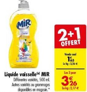 Bon Plan Mir Vaisselle chez Carrefour (26/02 - 11/03) - anti-crise.fr