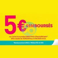 Offre de Remboursement Urgo : 5€ sur Patch d'Electrothérapie