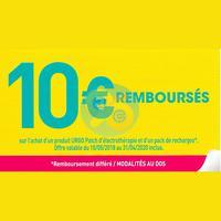 Offre de Remboursement Urgo : 10€ sur Patch d'Electrothérapie + Recharges