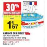Bon Plan Caprice des Dieux Chez Carrefour Market - anti-crise.fr