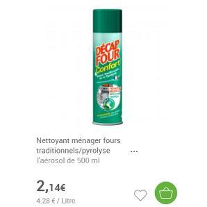 Nettoyant Décap'Four Partout